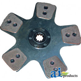 "Trans Disc: 12"",5-button, solid, (will replace 5224 organic clutch)"