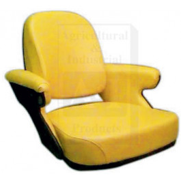 Seat Cushion, Steel, Mechanical, YLW VINYL