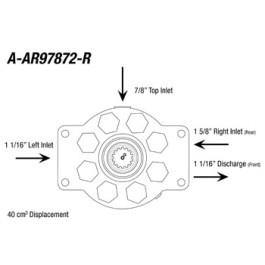 Re-Mfg. Hydraulic Pump (40cm3)