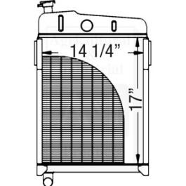 Radiator; Short Filler Neck