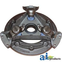 """Pressure Plate: 10"""", 3 lever, single"""