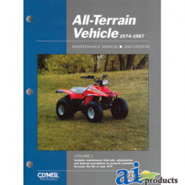 Clymer ATV Manual - 1974-1987, Volume 1