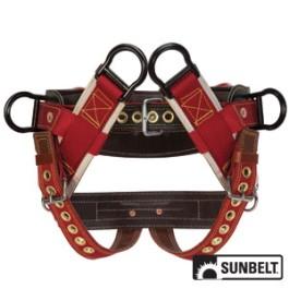 Saddle, Weaver, 4-Dee Extra Wide Back, 2' Nylon Straps, Medium