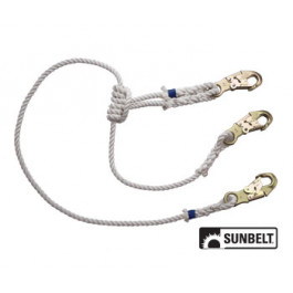 Lanyard, 2-in-1 Safety