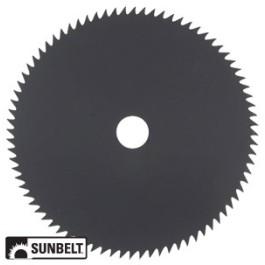 Brush Cutter Blade, 80 tooth, 8' diameter