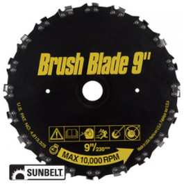 RazorMax Brush Cutter Blade, 9' diameter