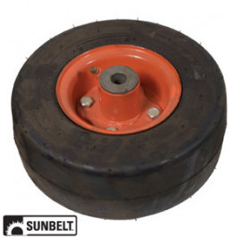 Wheel Assembly, Flatproof (9 x 3.5 x 4)