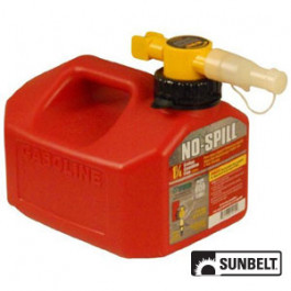 No-Spill CARB Gas Can (1.25 gallon)