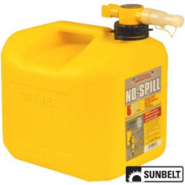 No-Spill CARB Diesel Can (5 gallon)
