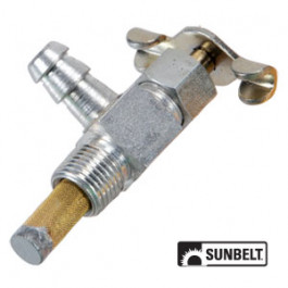 Fuel Shut-Off Valve, 1/8' pt. - 1/4' Nipple