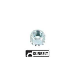 Wheel Bolt Nut, 3/8' -16