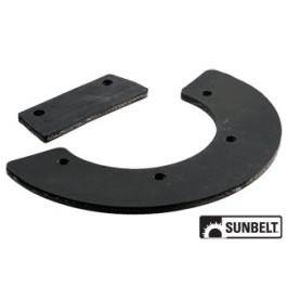 Set, Rubber Paddle (8 pieces)