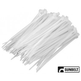 Nylon Cable Ties, 4' (pack of 100)