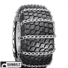 Tire Chain, 2 Link Spacing (23 x 9.5/10.5 x 12)