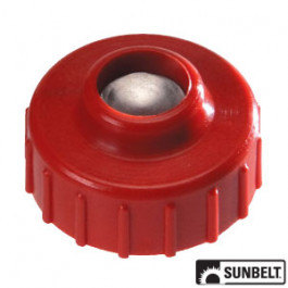 Commercial Tap-N-Go Trimmer Head Retainer, LH, Red