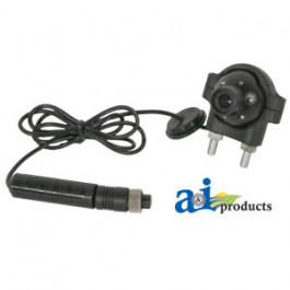 "CabCAM Camera, Ball Swivel, 1/3"" Color CCD W/ IR, For Wired System"