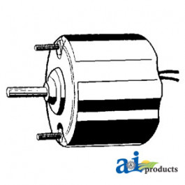 "Blower Motor - Condenser  (12V, 1/4"" X 1 1/2"" shaft, Rev rotation)"