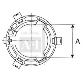 Shield Bearing, Outer