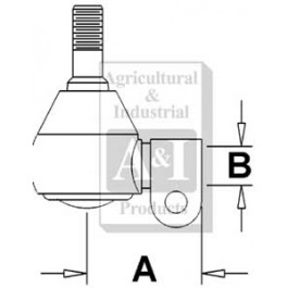 Rod End Ball Joint, Ref. 1 (1)