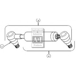 Universal PS Cylinder Kit, RH/LH (Ref. 3)