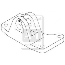 Bracket, Rear Radius Rod Support