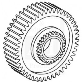 Gear, Output Shaft Assembly