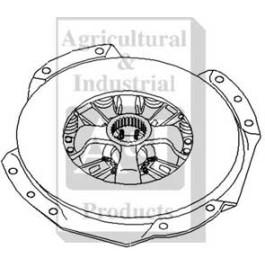 "Pressure Plate: 13"", w/  PTO hub & release bearing plate"