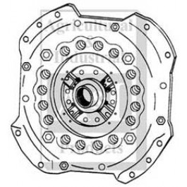 "Pressure Plate: 13"", pressed steel, w/ release plate"