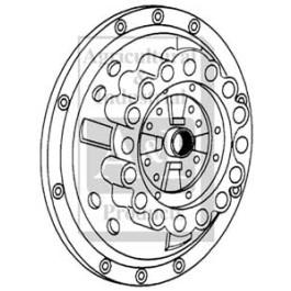 """Pressure Plate & Cover: 11"""""""