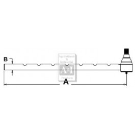 Tie Rod, Outer (LH)