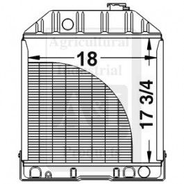Radiator w/o Oil Cooler - C7NN8005E