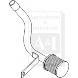 Filter & Pipe Assembly, Hydraulic Intake