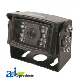 "CabCAM Camera, 1/3"" CCD, 110 degrees, 18 LED"