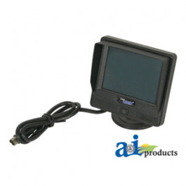"CabCAM Wired 3.5"" Monitor w/ Mount Bracket/Harness & Accessories"