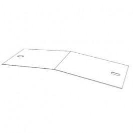 Cover Plate, Concave Extension Only