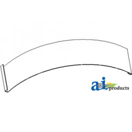 Cover Plate, 1 Piece Concave