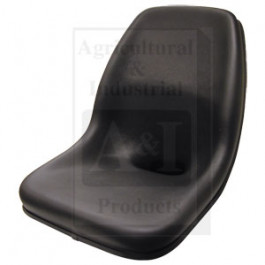 High Back, Moulded Dishpan Seat, BLK