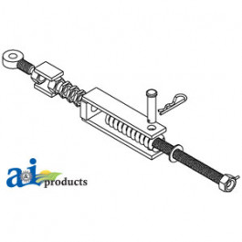 Turnbuckle Assembly, w/ Spring