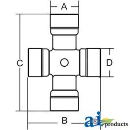 Cross & Bearing Kit (CV)
