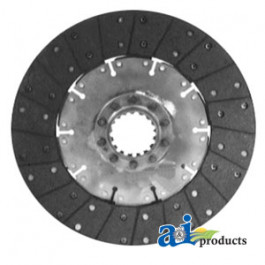 "PTO Disc: 12"", organic, solid"