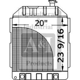 Radiator w/ Cooler - E1NN8005BD15M