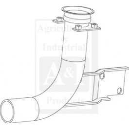 Elbow, Exhaust Inlet Pipe