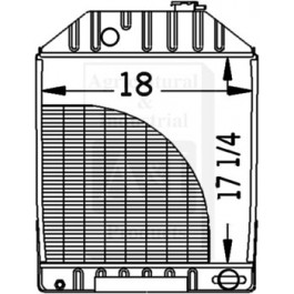 Radiator - E4NN8005BC15M