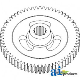 Gear, Impeller; 64 Tooth, Splined