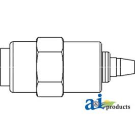 Solenoid, Fuel Shutoff Assembly