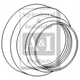 Seal & Retainer (Outer), Rear Axle