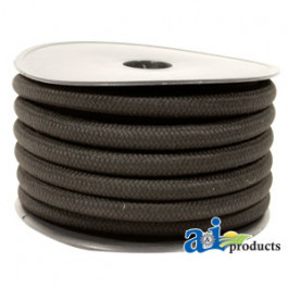 "Hose, Fuel; 3/16"",  Braided Cover (52 Ft. Roll)"