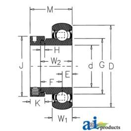 WPS Type Wide Inner Ring- Import