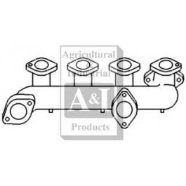 Manifold, Dual Outlet