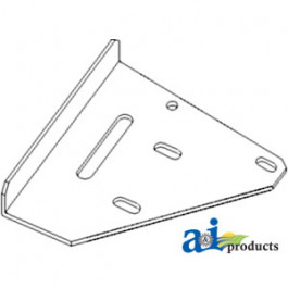 Bracket, Support; Straw Chopper (LH)